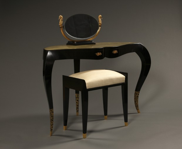 2 dressing room table ebony, yannick chastang 2014