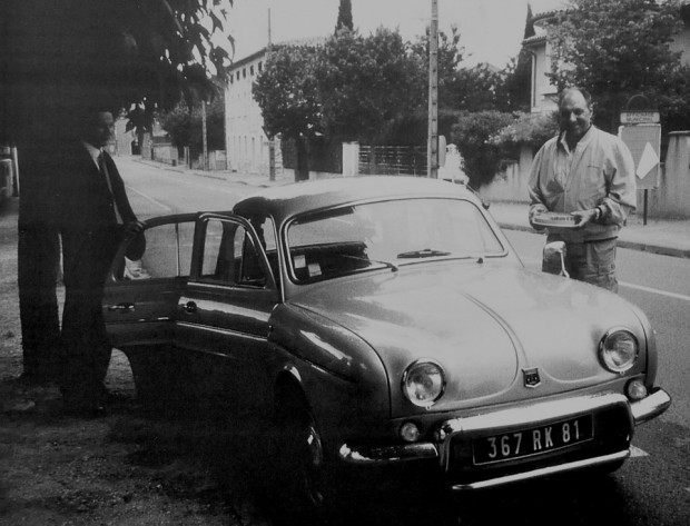Pierre Ramond and his 1964 Renault Dauphine