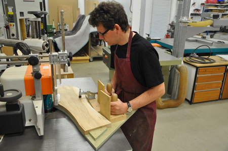 making new marquetry donkey, 2015, 1