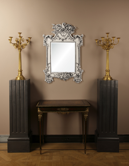 final yannick chastang acrylic chippendale mirror, 2014